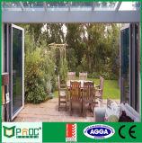 Модельная алюминиевая дверь Bifolding для сбывания