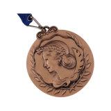 La conception 3D personnalisé double faces pour la promotion de la médaille de métal