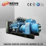 Generatore diesel raffreddato ad acqua di energia elettrica del MTU 1470kw con ATS facoltativo
