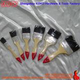 633 дешевые красный штекер - Деревянная ручка окраски черный щетинки щетки (812058)