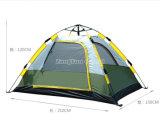 卸売3-4人の自動テント、屋外のキャンプテント