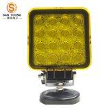 Luz 48W do trabalho do diodo emissor de luz do automóvel 4 polegadas para o trabalho dos caminhões dos veículos