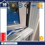 Het poeder bedekte het Grijze Openslaand raam van het Aluminium met een laag