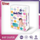 O absorvente alta fuga de fraldas para bebé Yoursun Anti com tamanho 5