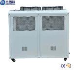 Refrigerador de agua refrescado aire de la industria plástica