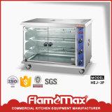Rotisserie électrique commercial de poulet d'acier inoxydable
