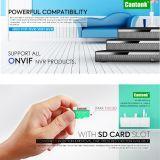 Rango de WiFi 300max la tarjeta SD de la cámara IP