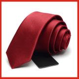 Relation étroite de collet tissée par polyester de type de créateur de qualité