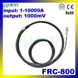 Hohe aktuelle Ring-Fühler-Reichweite 1-10000A des Messen-Frc-800 flexible Rogowski mit BNC Verbinder mit 100mv
