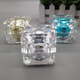 Heißes Verkaufs-Acrylsahneglas-lichtdurchlässiges Glas 15g 30g 50g