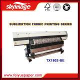 Impresora de inyección de tinta china con dos cabezales de impresión por sublimación