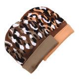 Le bébé d'enfants badine le chapeau tricoté chaud de Beanie de chapeaux d'impression de Camo de l'hiver d'automne (HW626)