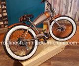 2018의 250/500W/750W 포도 수확 함 자전거 또는 고전적인 함 전기 자전거 또는 바닷가 함 전기 뚱뚱한 자전거 또는 향수 뚱뚱한 Pedelec 또는 Retro Pedelec 백색 벽 타이어