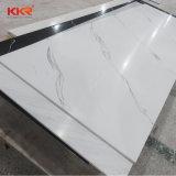 El Corian blanco puro de hoja de superficie sólida de acrílico