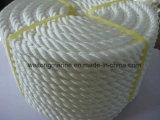 Corda de nylon marinha da corda da amarração de 8 costas