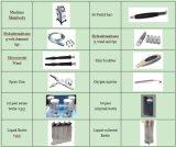 Idro buccia professionale 7 del getto dell'ossigeno di Microdermabrasion del diamante di Dermabrasion in 1 macchina facciale