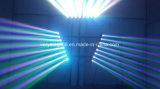 Parti d'effet Disco 8*10W d'éclairage LED en barre tête de déplacement du faisceau