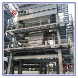 La mezcla caliente planta de mezcla usada 80 t/h del asfalto con cose Motor