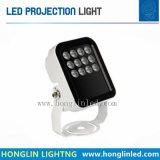 12PCS를 가진 방수 옥외 LED 영사기/스포트라이트 빛