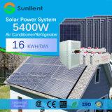 5kw Systeem van de ZonneMacht van het van-net van de Airconditioner het Draagbare voor Huis