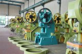 OEM Verstrekte J23 63t Machine van het Ponsen van het Profiel van het Aluminium