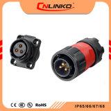 Elektrisches Verbinder-Schweißens-Panel eingehangener Kabel-Verbinder der Verkabelungs-wasserdichtes Energien-IP65/IP67 für LED-Beleuchtung