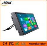 12 duim - hoge Leesbare LCD van het Zonlicht van het Veiligheidssysteem van de Snelheid Zwarte Monitor