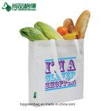 Eco bereiten langer Griff-Käufer-Beutel nicht gesponnenen Lebensmittelgeschäft-Schulter-Beutel auf