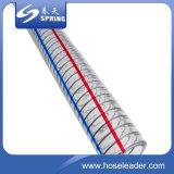최신 판매 PVC 산업을%s 나선형 철강선 강화된 수관 또는 호스
