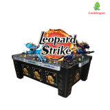 Máquina de jogo a fichas da caça dos peixes da batida do leopardo das máquinas do vídeo da pesca para a venda