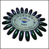 Kristallchamäleon-Chrom-Spiegel-Nagellack-Pearlescent Pigment