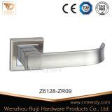 Hardware de entrada de la puerta de aluminio de aleación de zinc de la palanca de bloqueo (z6120-ZR03)