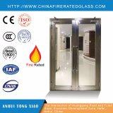 Feuer-Glastür (Stahlrahmen mit feuerbeständigem Glas) Ei90