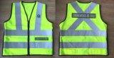 Vest het van uitstekende kwaliteit van de Veiligheid met het Embleem van het Borduurwerk, Directe Fabriek