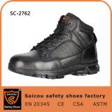 Ботинки полиций нового прибытия облегченные черные с составной крышкой Sc-2762 пальца ноги