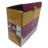 Fábrica directa acanalada móvil del rectángulo del cartón de papel del doblez de encargo al por mayor
