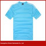 T-shirt das crianças azuis personalizadas da alta qualidade do Spandex (R51)