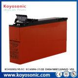発電所電池VRLA AGM電池12V 160ahのための5年の保証電池
