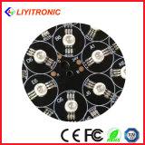 1W 350mA diodo amarillo del poder más elevado LED de 60/90/120 grado 588-592nm 50-60lm