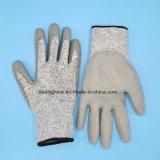 Перчатка безопасности сопротивления отрезока перчаток работы отрезока Hppe анти- для стекла и стального вручать