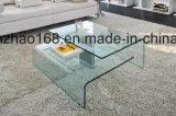 Tabella superiore di vetro libera del lato del salone del tavolino da salotto