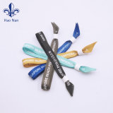 preço de fábrica tecido personalizado pulseiras impresso para o Natal