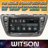 Tela de Toque do Windows Witson aluguer de DVD para Suzuki S Cruz 2013 2015