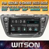 Automobile DVD dello schermo di tocco di Witson Windows per la traversa 2013 2015 del Suzuki S