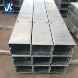 Carbonio galvanizzato caldo rettangolare del tubo d'acciaio di alta qualità