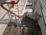 Профессиональный Railing балкона нержавеющей стали Frameless конструкции проекта балюстрады