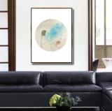 Illustration abstraite classique de toile d'art de peinture à l'huile d'horizontal