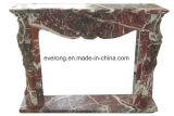 De goedkope Moderne Afdekplaat van de Open haard van de Steen van het Ontwerp voor Binnenlandse Decoratief