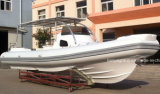 Yate inflable rígido del barco de la costilla de Europa Hypalon del barco de Liya los 8.3m