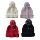 Комплект шлема & шарфа перчатки сыча Knit кабеля Girsl